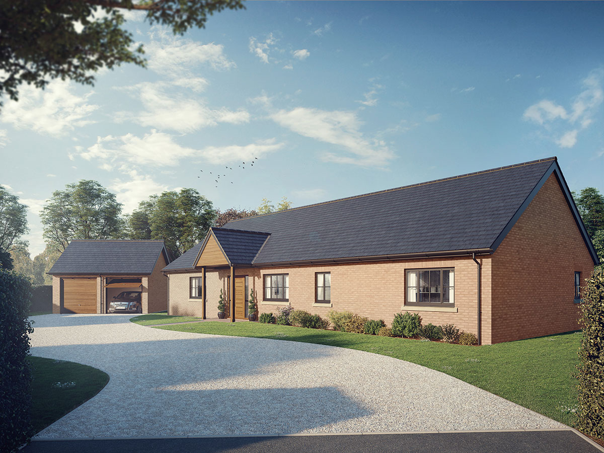 Exclusive development of just 12 bespoke homes released for sale in Norton in Hales